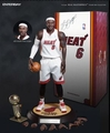 "LeBron James (Miami Heat) 1/6th Scale 12"" Action Figure Enterbay"