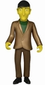"Leonard Nimoy (The Simpsons 25th Anniversary) 5"" Action Figure Series 3 NECA"