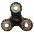 Lightning McQueen (Disney Pixar Cars 3) Printed 3 Way Spinner (Black)
