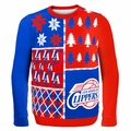 Los Angeles Clippers NBA Ugly Sweater Busy Block