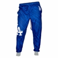 Los Angeles Dodgers MLB Polyester Mens Jogger Pant by Klew