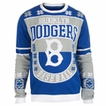 Brooklyn Dodgers Retro Cotton Sweater by Klew