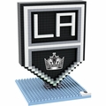 Los Angeles Kings NHL 3D Logo BRXLZ Puzzle By Forever Collectibles