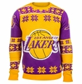 Los Angeles Lakers Big Logo NBA Ugly Sweater