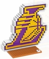 Los Angeles Lakers NBA 3D Logo BRXLZ Puzzle By Forever Collectibles