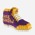 Los Angeles Lakers NBA 3D Sneaker BRXLZ Puzzle By Forever Collectibles