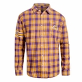 Los Angeles Lakers NBA Wordmark Flannel Long Sleeve Shirt