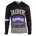 Los Angeles Raiders Super Bowl XVIII Champions Poly Hoody Tee