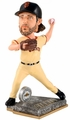 Madison Bumgarner (San Francisco Giants) 2015 Springy Logo Action Bobble Head Forever Collectibles