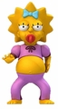 "Maggie Simpson (The Simpsons 25th Anniversary) 5"" Action Figure Series 2 NECA"
