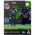 Malcom Smith MVP Edition (Seattle Seahawks) Super Bowl Champs NFL OYO Sportstoys Minifigures