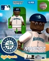 Mariner Moose Mascot (Seattle Mariners) MLB OYO Sportstoys Minifigures G4LE