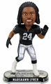 Marshawn Lynch (Oakland Raiders) 2017 NFL Headline Bobble Head by Forever Collectibles