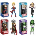 Marvel Comics Funko Rock Candy Complete Set (4)