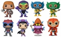 Masters of the Universe Complete Set w/CHASE (8) Funko Pop!