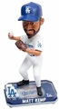 Matt Kemp (Los Angeles Dodgers) Forever Collectibles 2014 MLB Springy Logo Base Bobblehead