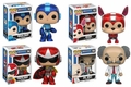 Mega Man Complete Set (4) Funko Pop!