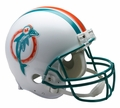 Miami Dolphins (1980-96) Riddell NFL Throwback Mini Helmet