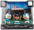 Miami Dolphins Lil Teammates NFL 3-Pack Collectible Team Set