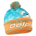 Miami Dolphins NFL Camouflage Light Up Printed Beanies