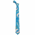 Miami Dolphins NFL Ugly Tie Repeat Logo by Forever Collectibles