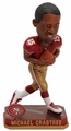 Michael Crabtree (San Francisco 49ers) Forever Collectibles 2014 NFL Springy Logo Base Bobblehead