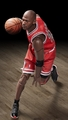 "Michael Jordan (Chicago Bulls) 1/9th Scale 8"" Action Figure Enterbay"