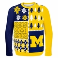 Michigan Ugly College Sweater BusyBlock