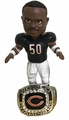 Mike Singletary (Chicago Bears) 1985 Super Bowl Championship Ring Base Bobblehead Exclusive #750
