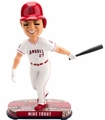 Mike Trout (Los Angeles Angels) 2017 MLB Headline Bobble Head by Forever Collectibles