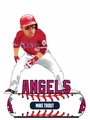 Mike Trout (Los Angeles Angels) 2018 MLB Baller Series Bobblehead by Forever Collectibles