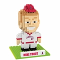 Mike Trout (Los Angeles Angels) MLB 3D Player BRXLZ Puzzle By Forever Collectibles