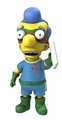 "Milhouse Van Houten The Simpsons 25th Anniversary 5"" Action Figure Series 5 NECA"