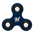 Milwaukee Brewers MLB Team Three Way Spinner