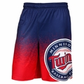 Minnesota Twins MLB Gradient Polyester Shorts By Forever Collectibles