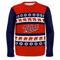 Minnesota Twins MLB Ugly Sweater Wordmark