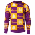 Minnesota Vikings Patches NFL Ugly Crew Neck Sweater by Forever Collectibles