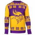 Minnesota Vikings Big Logo NFL Ugly Sweater