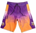 Minnesota Vikings Gradient NFL Board Shorts