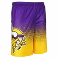 Minnesota Vikings NFL 2016 Gradient Polyester Shorts By Forever Collectibles
