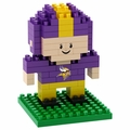 Minnesota Vikings NFL 3D Player BRXLZ Puzzle By Forever Collectibles