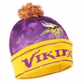 Minnesota Vikings NFL Camouflage Light Up Printed Beanies