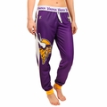 Minnesota Vikings NFL Poly Fleece Women's Jogger Pant by Klew