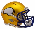 Minnesota Vikings Riddell Blaze Alternate Speed Mini Helmet