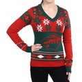 Minnesota Wild Big Logo (Women's V-Neck) NHL Ugly Sweater