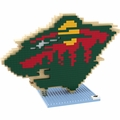 Minnesota Wild NHL 3D Logo BRXLZ Puzzle By Forever Collectibles