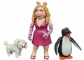 Miss Piggy With Foo Foo & Penguin The Muppets Series 3 Action Figure 2-Pack Diamond Select Toys