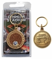 MLB Infield Dirt Coin Keychain