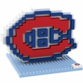 Montreal Canadiens NHL 3D Logo BRXLZ Puzzle By Forever Collectibles