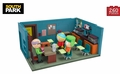 Mr. Garrison, Kyle & Cartman With The Classroom (South Park) Large Set McFarlane Construction Set